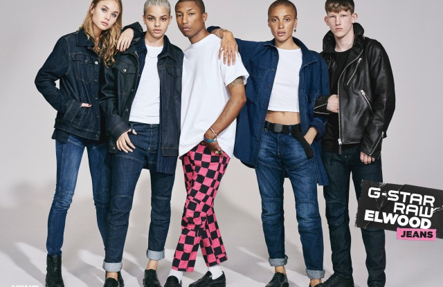 G-Star Raw's fall campaign.
