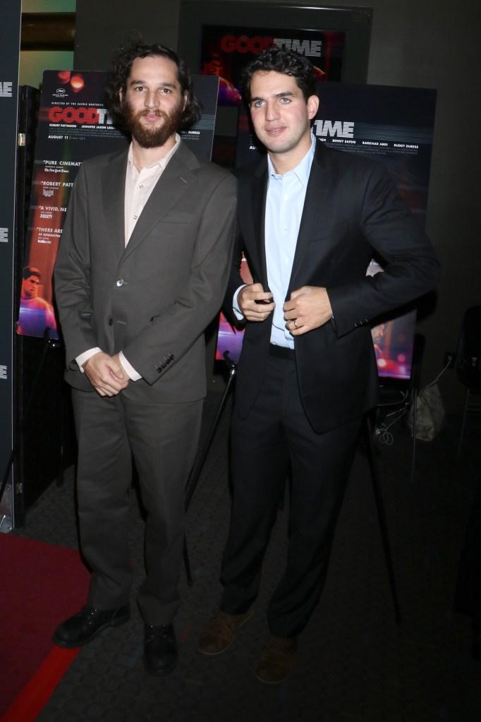 Joshua Safdie and Ben Safdie