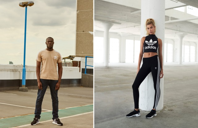 The Adidas and JD Sports fall 2017 EQT campaign featuring Stormzy and Hailey Baldwin