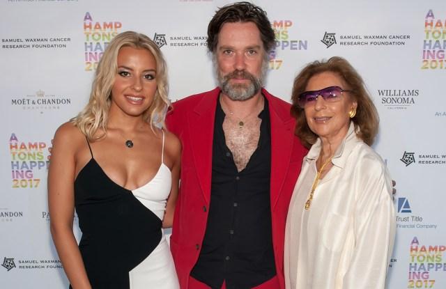 Sophie Beem, Rufus Wainwright, and Marion Waxman