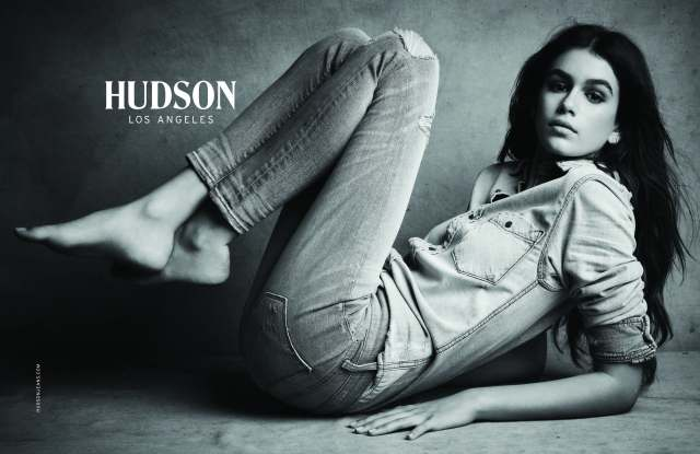 Kaia Gerber Hudson jeans