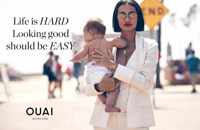 Kristen Noel Crawley in Ouai's new campaign.
