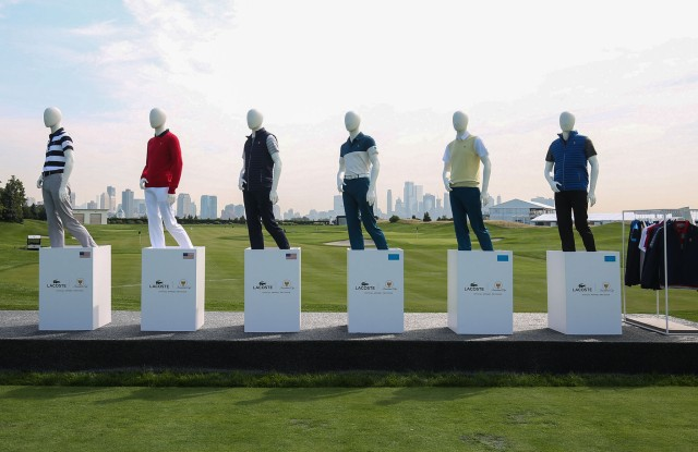 Lacoste Presidents Cup uniforms.