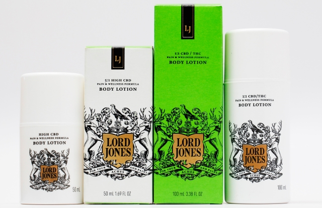 An assortment of products from Lord Jones.