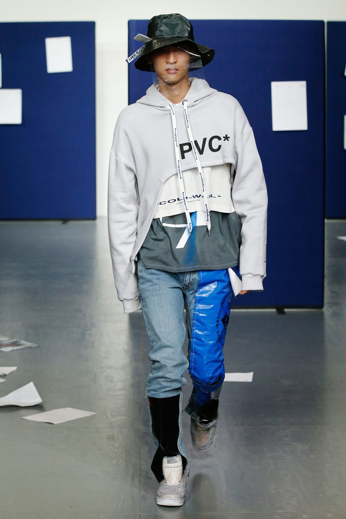 A look from A-Cold-Wall Men's Spring 2018.