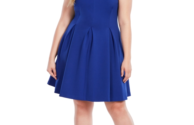 "The ""Madrid"" dress from Jay Godfrey's plus size line for Gwynnie Bee."