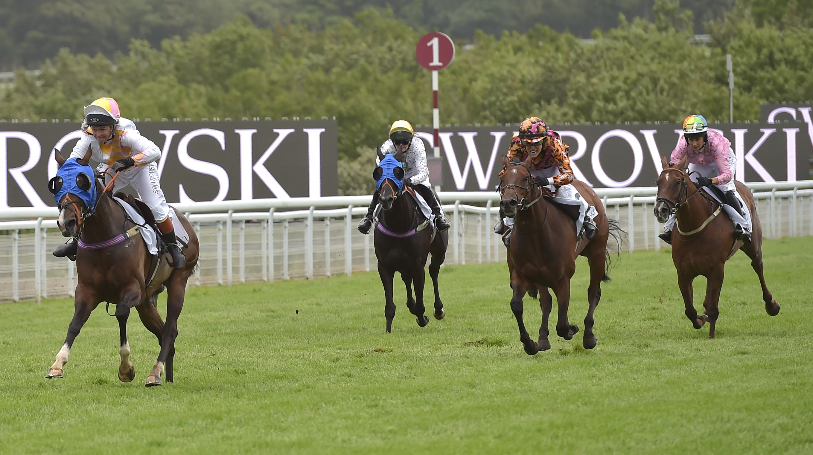 The Magnolia Cup at the Qatar Goodwood Festival Ladies' Day Race