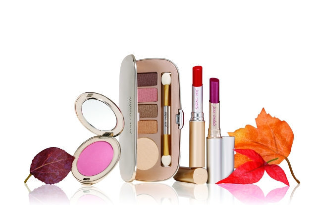 "Jane Iredale's ""Naturally Glam"" collection."