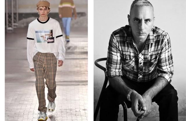A look from No. 21 and designer Alessandro Dell'Acqua.