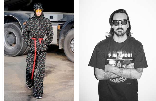 A look from Palm Angels and designer Francesco Ragazzi.