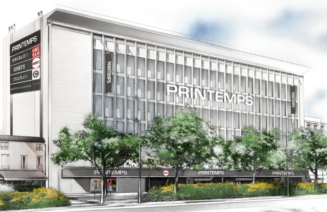 The local branch of Printemps will feature Citadium, Uniqlo and Maisons du Monde