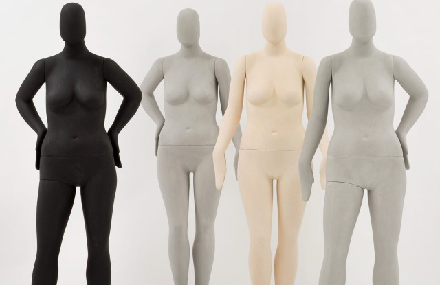 Ralph Pucci's new plus-size mannequin collection called Sizes.