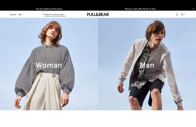 Pull & Bear is making inroads in the men's casual pant market in the U.S.