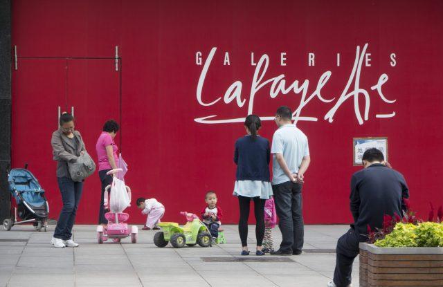 Galeries Lafayette returned to Beijing in 2013.
