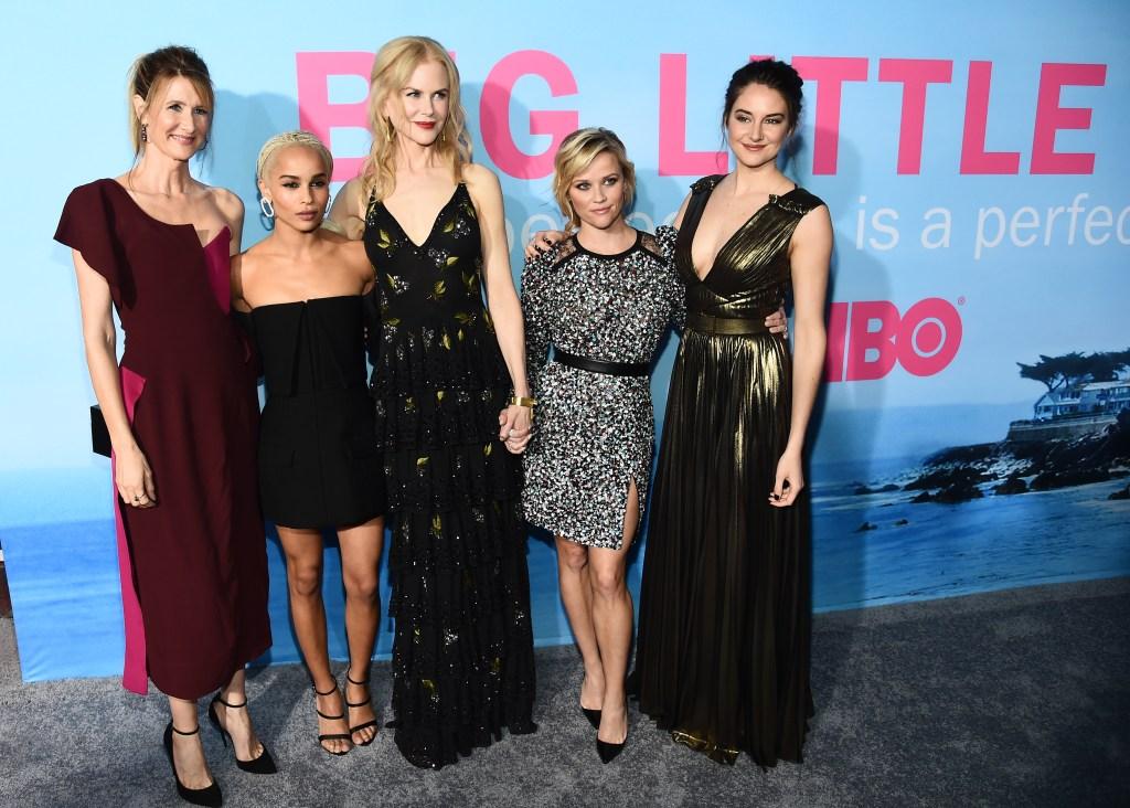 Laura Dern, Nicole Kidman, Shailene Woodley, Zoe Kravitz and Reese Witherspoon'Big Little Lies' TV series premiere, Arrivals, Los Angeles, USA - 07 Feb 2017