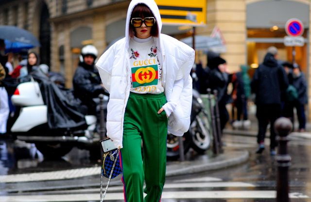 Street Style, Arrival for AcneStreet Style, Day 5, Autum Winter 2017, Paris Fashion Week, France - 04 Mar 2017