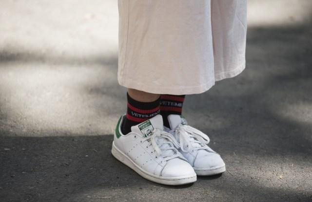 Street style, shoe detailStreet Style, Tbilisi Fashion Week, Georgia - 09 May 2017