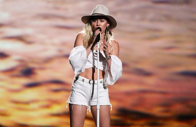 Miley CyrusBillboard Music Awards, Show, Las Vegas, USA - 21 May 2017