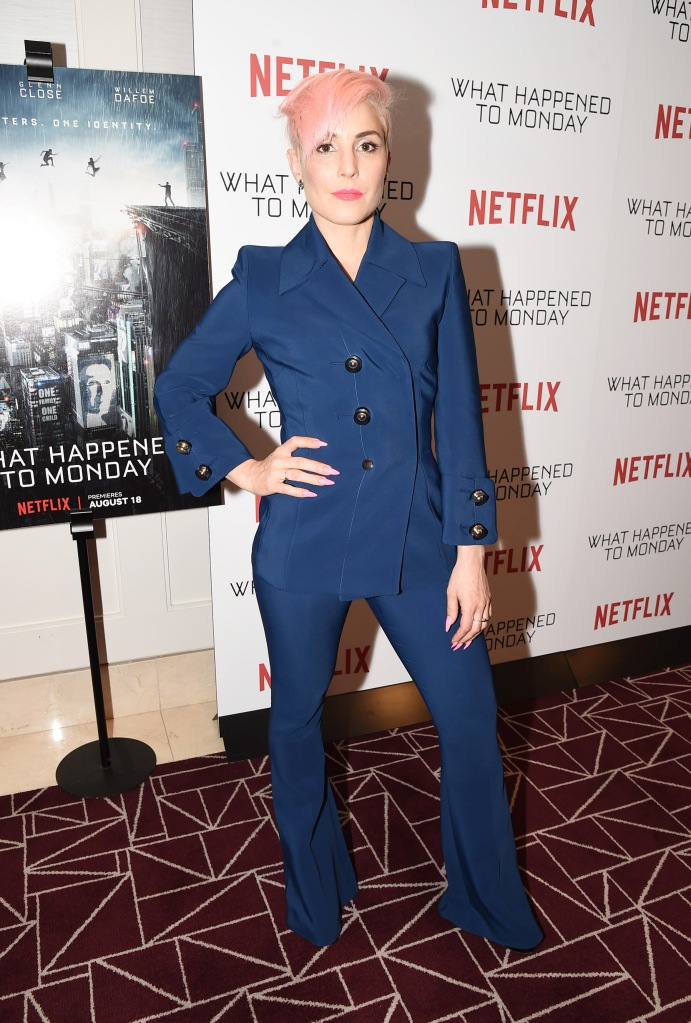 Noomi Rapace at the Netflix 'What Happens to Monday' Special Screening, Los Angeles, USA - 25 Jul 2017