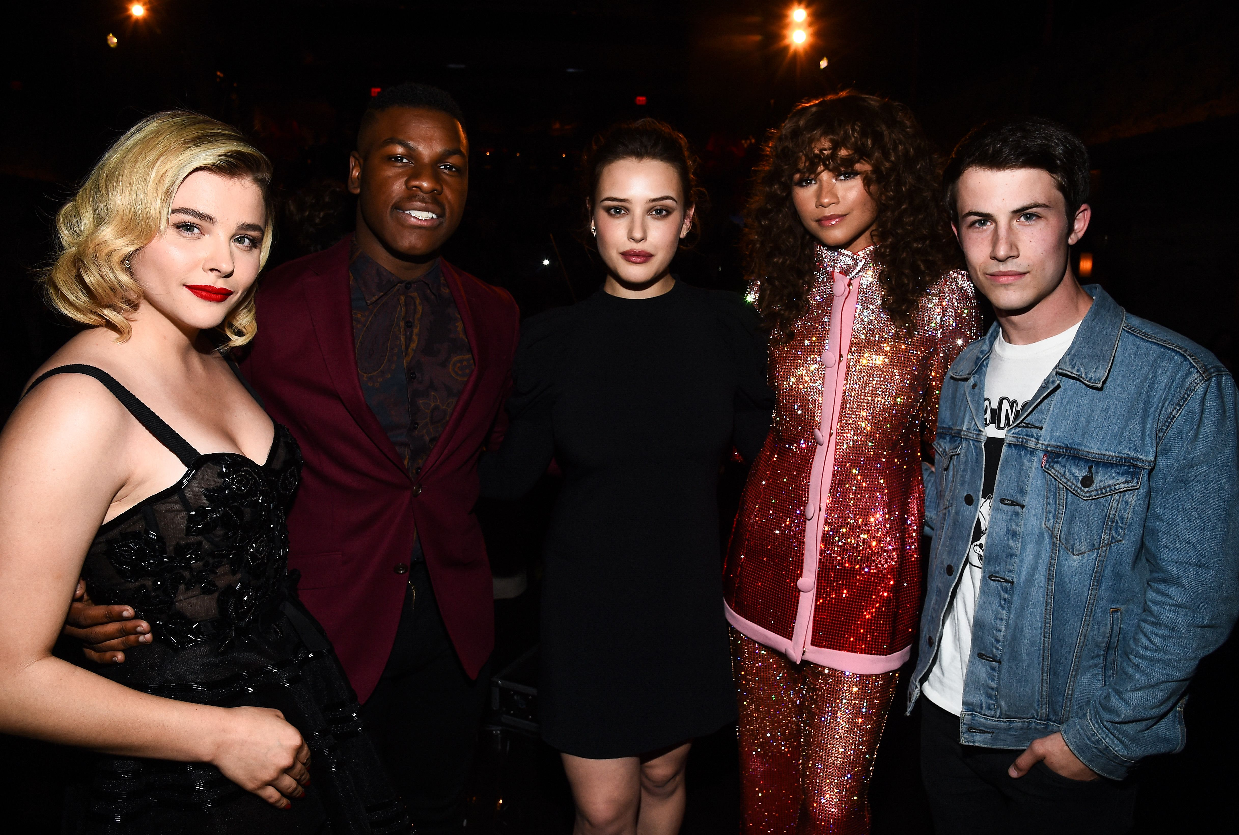 Chloe Grace Moretz, John Boyega, Katherine Langford, Zendaya and Dylan MinnetteVariety's Power of Young Hollywood, Inside, Los Angeles, USA - 08 Aug 2017