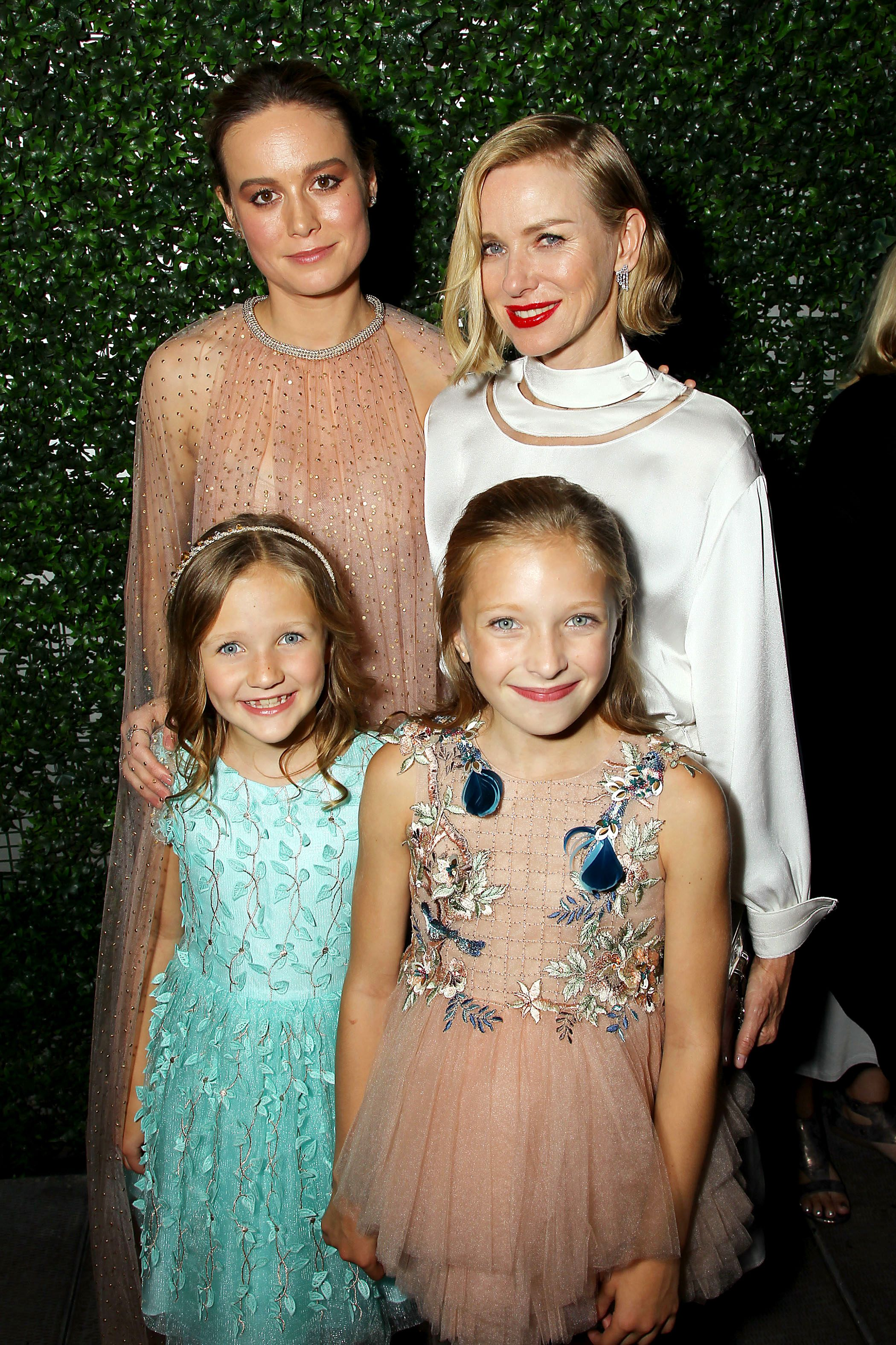 Brie Larson, Naomi Watts, Chandler Head and GuestNew York Special Screening of Lionsgate film 'The Glass Castle' - After Party at Catch New York, USA - 09 Aug 2017