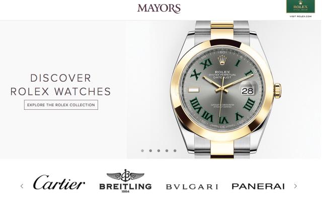 mayor's jewelers
