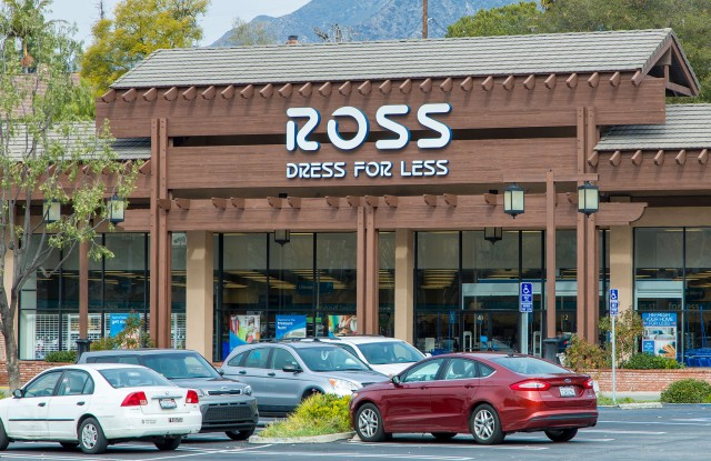 LA CRESCENTA, CA/USA - JANUARY 9, 2016: Ross Dress For Less store exterior. Ross Stores, Inc., is an American chain of off-price department stores.; Shutterstock ID 364086053; Usage: redownload; Issue Date: redownload; comments: redownload