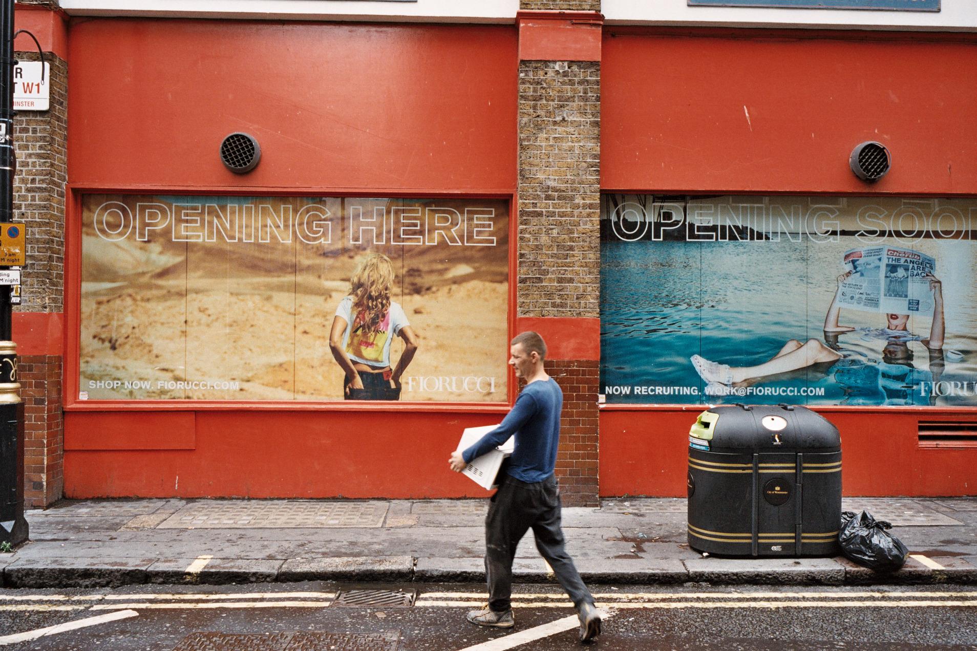 The Fiorucci store in London