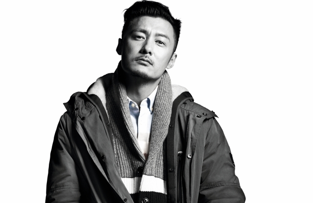 Shawn Yue in Tommy Hilfiger's fall campaign.