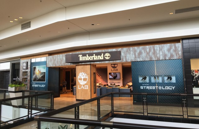 A look inside the new Timberland Tree Lab store.