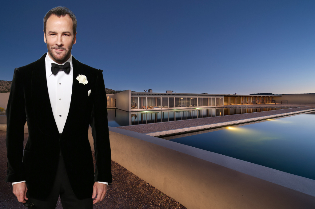 Tom Ford's ranch in Santa Fe, N.M., which dwarfs Manhattan in size, has been on the market for $75 million since last summer.