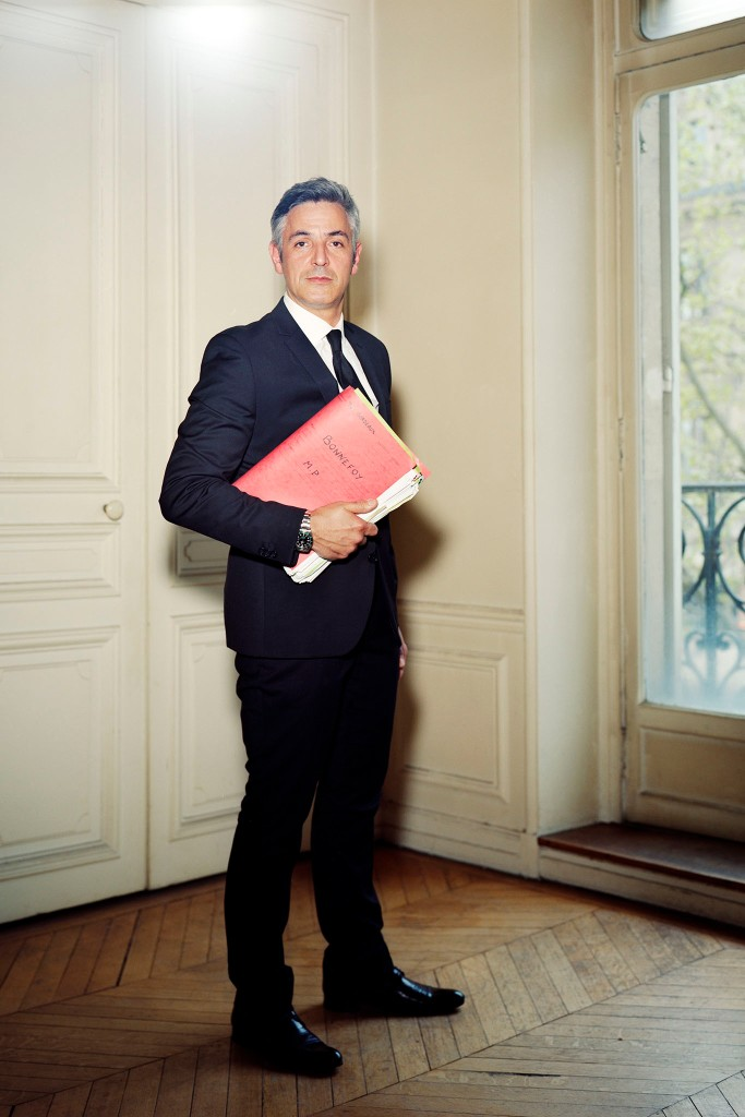 The indiscreet butler: Pascal Bonnefoy, Paris, 2014.