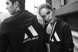 Akin Akman and Emily DiDonato are featured in the digital ad campaign.
