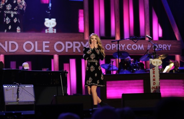 Country singer Tegan Marie making her debut at the Grand Ole Opry