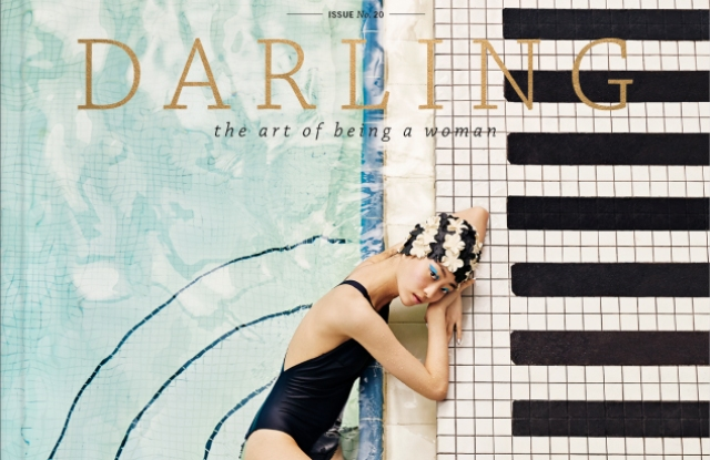 The Summer 2017 cover of Darling.