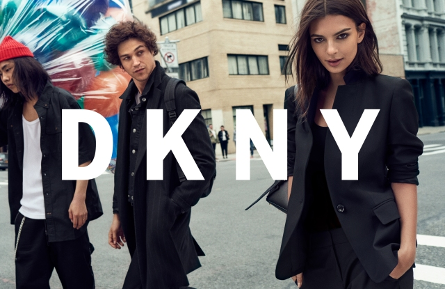 An ad image from DKNY.
