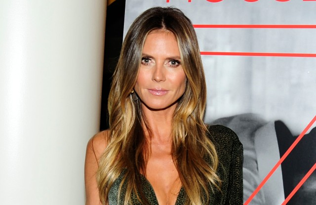 """Heidi Klum==Brooks Brothers with The Cinema Society host the premiere of """"House of Z""""==Crosby Street Hotel, NYC==September 7, 2017==©Patrick McMullan==Photo - Paul Bruinooge/PMC===="""