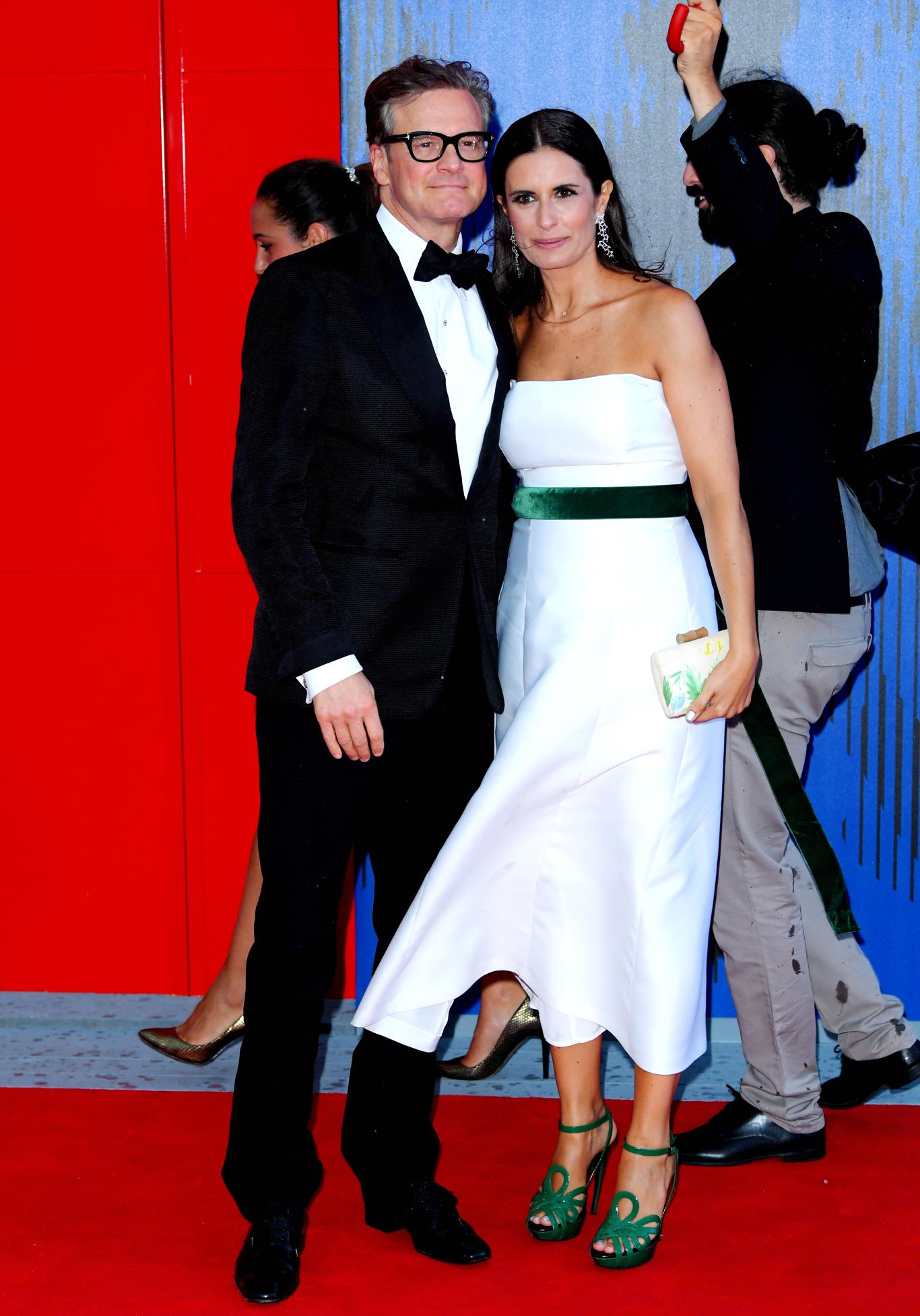 Colin Firth and his wife LiviaThe Franca Sozzani Award, 74th Venice International Film Festival, Italy - 01 Sep 2017