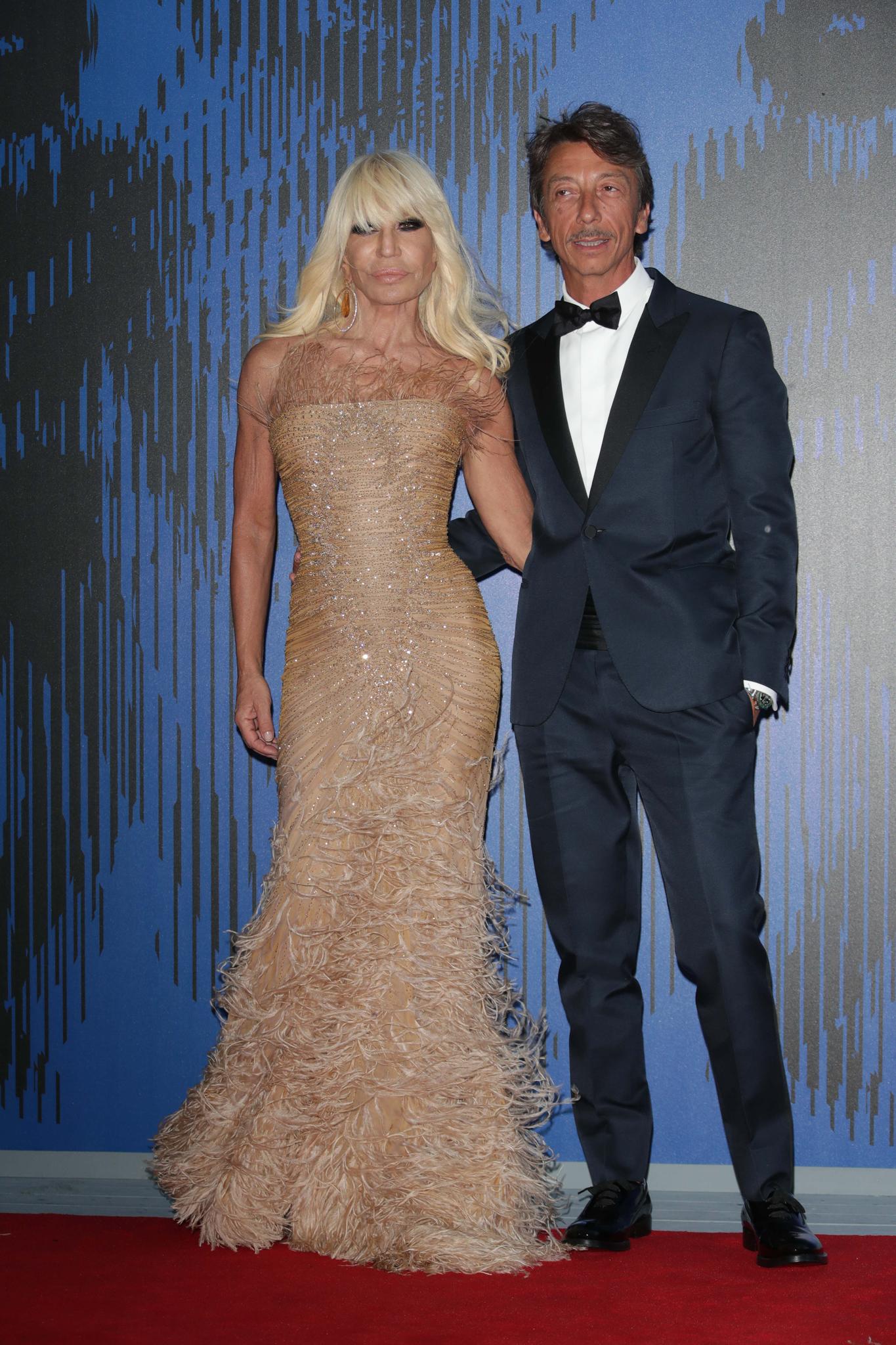 Donatella Versace, Pierpaolo PiccioliThe Franca Sozzani Award, 74th Venice Film Festival, Venice, Italy - 01 Sep 2017