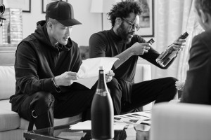 Dao-Yi Chow and Maxwell Osborne of Public School worked on the bottles for more than a year.