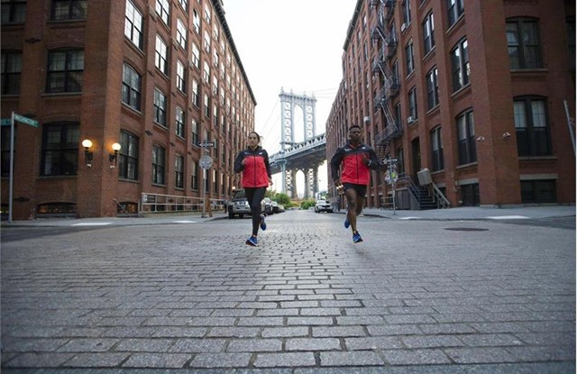 Looks from the New Balance New York City Marathon collection.