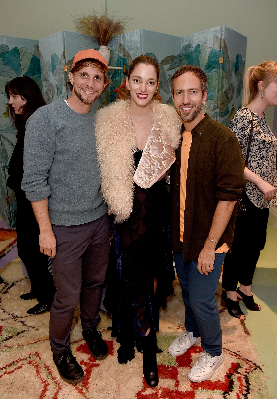 Christopher De Vos, Sofia Sanchez de Betak and Peter Pilotto