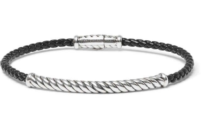A David Yurman bracelet launching on Mr Porter