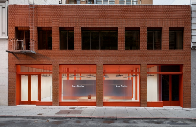Acne Studios San Francisco store