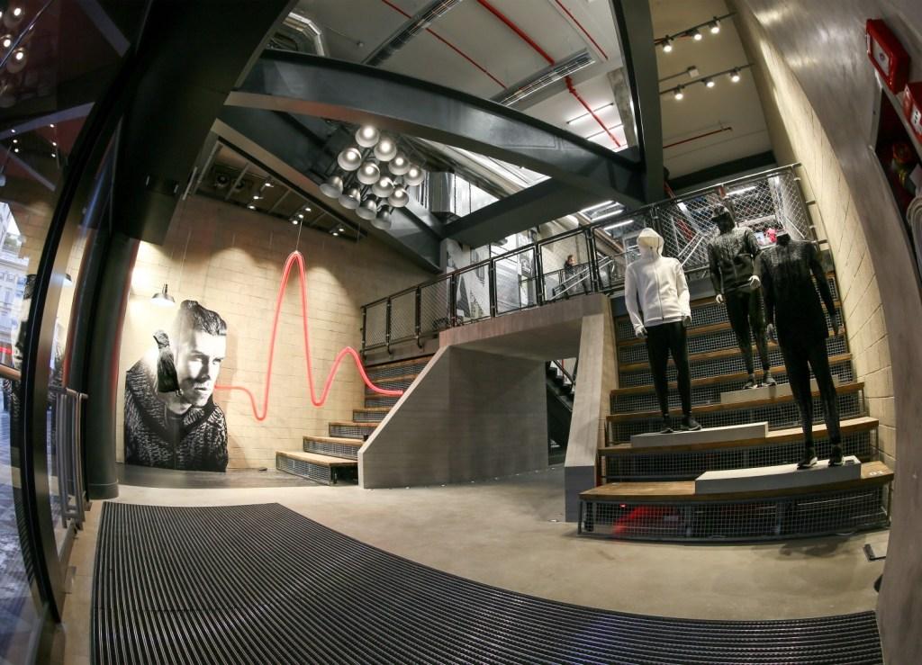 "Adidas ""Brand Center"" in Milan"
