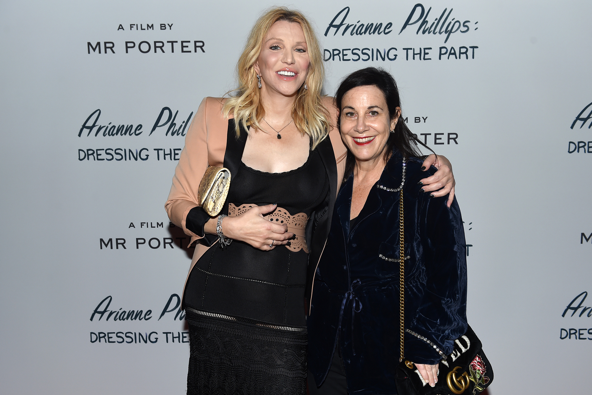 Courtney Love and Arianne PhillipsArianne Phillips: Dressing the Part, Spring Summer 2018, New York Fashion Week, USA - 07 Sep 2017