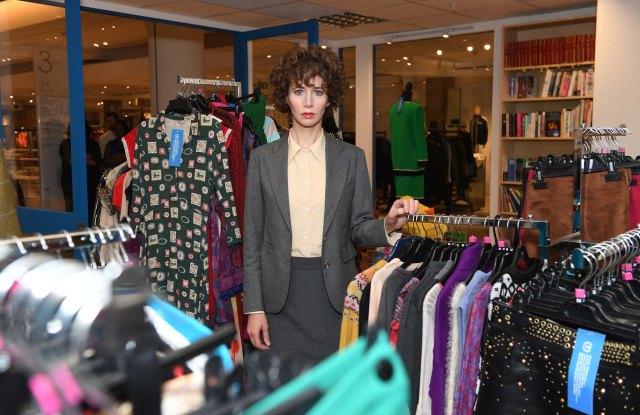 Miranda July her interfaith charity shop Selfridges