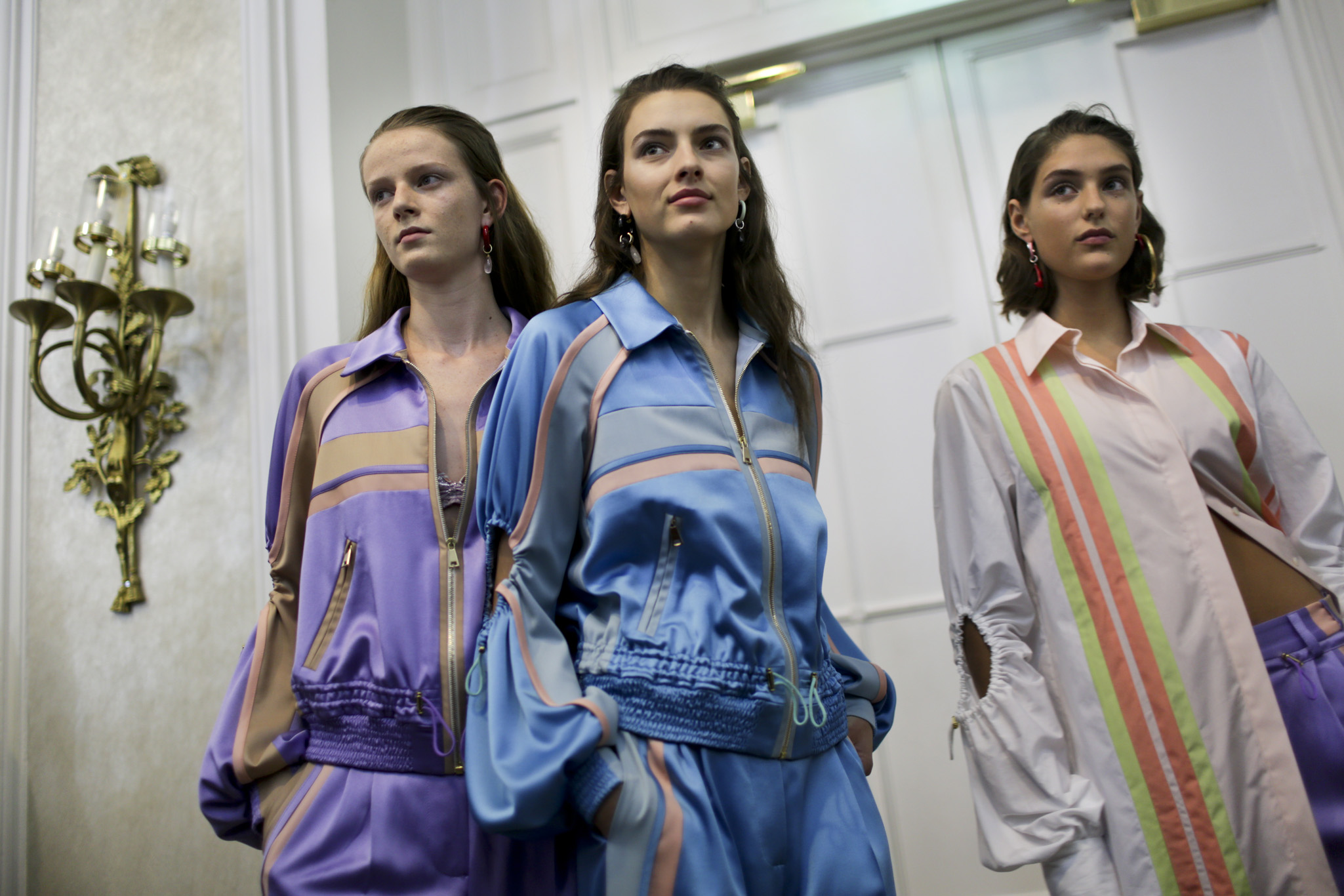 Backstage at Peter Pilotto RTW Spring 2018
