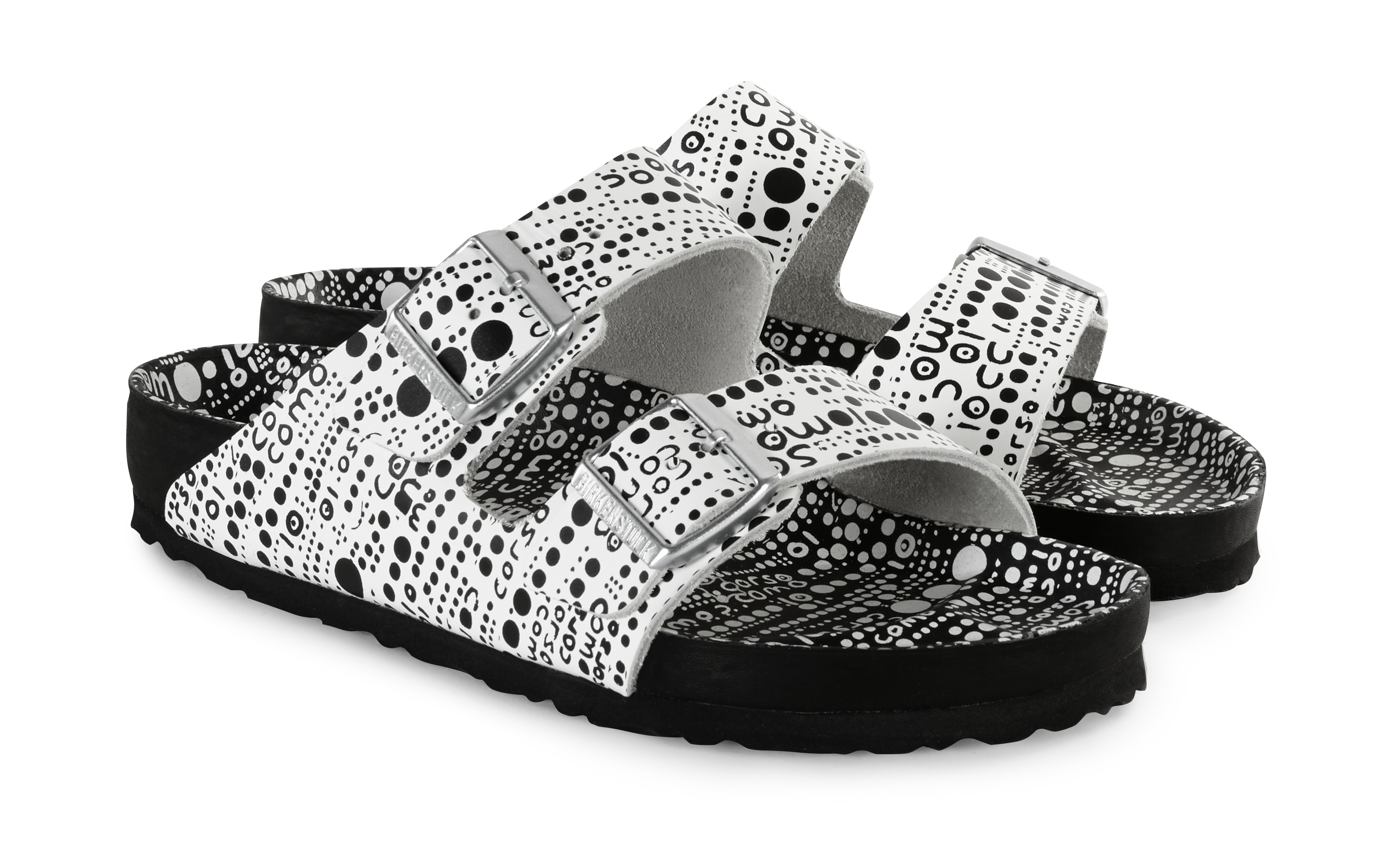 A pair of Birkenstock x 10 Corso Como sandals.
