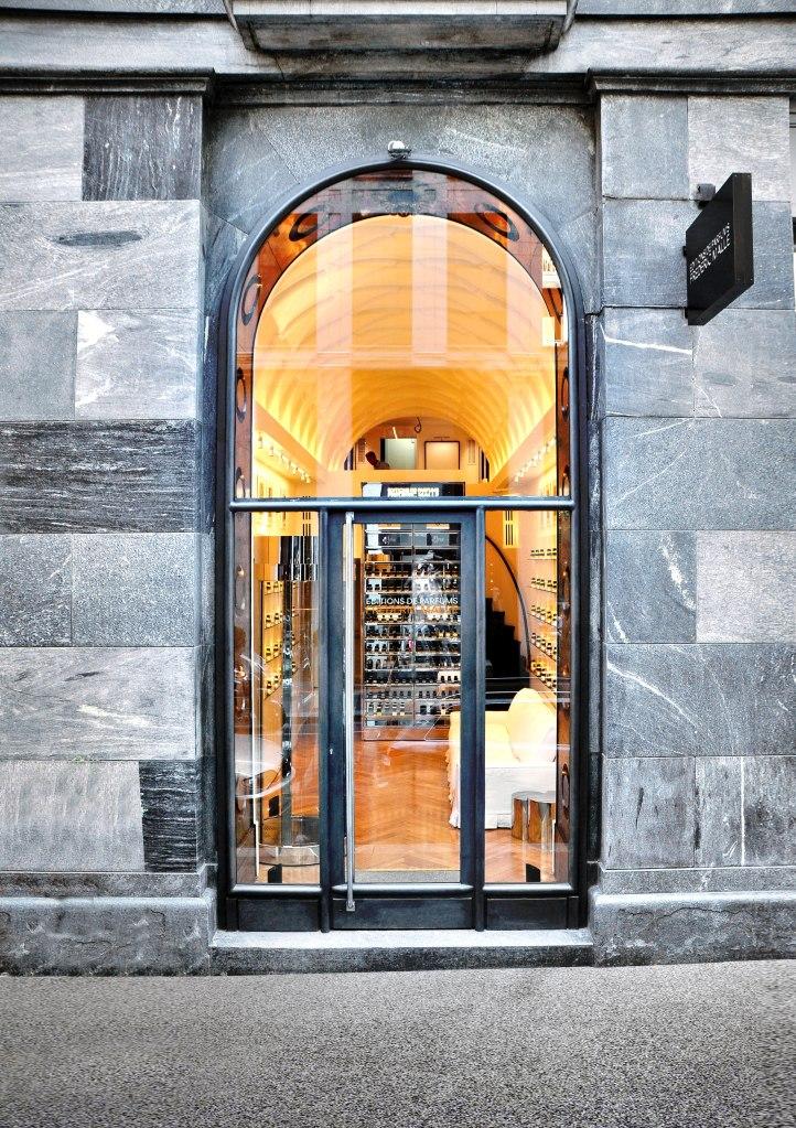 Editions de Parfums Frédéric Malle store in Milan.